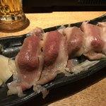 牛たん焼きしゃぶ 元祖たこしゃぶ 紅れや - 肉寿司