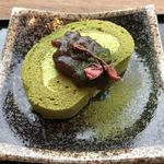 OMURO GREEN HOUSE Cafe&Gift - お抹茶ロール