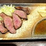 四文屋 - 牛たん網焼き