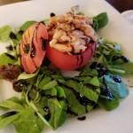88559460 - ベルギー名物・トマトクルヴェット~トマトに詰めた小海老のサラダ~