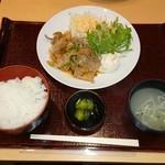 88560065 - 豚生姜焼き定食 880円