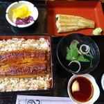 うなぎ家曳舟 - 料理写真:あいのりAセット 3400円