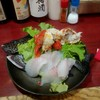 がんちゃん - 料理写真:おまかせ料理 3000円のイシガキダイ造りとボイルアサヒガニ
