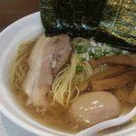 ソイ ソース ラーメン 醤屋 - 料理写真:白醤油味玉