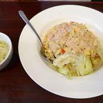 華龍 白石亭 - 生菜蟹肉炒飯