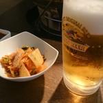おんどる - キムチ&生ビール