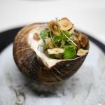 TACUBO - サザエの香草バター焼き