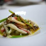 TACUBO - 北寄貝とカラスミのトロフィエ