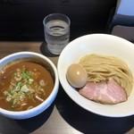88565588 - 半熟味玉サバカレーつけ麺