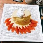 紅鶴 - 柑橘果実とカスタードクリーム