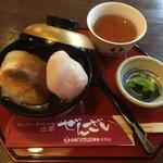 日本ぜんざい学会 - 料理写真:縁結ぜんざい