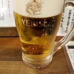 88567347 - 生ビール:590円税別