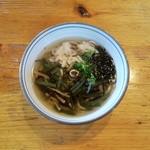 六六庵 - 料理写真:山菜そば
