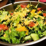 88568018 - 『1品目』                        8品目の葉野菜どっさりミモザ風コブサラダ
