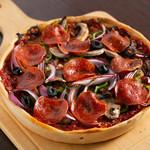 エール ビアアンドピッツァ - 新作!ペパロニソーセジとたっぷり野菜のピザ