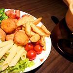 Cheese×創作TENPURA 菜の門 - チーズフォンデュ