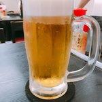空港食堂 - オリオン生ビール!本日2杯目‼︎