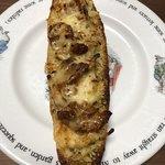 ブーランジェリー ブラン - 料理写真:てりやきチキンとごぼうサラダのタルティーヌ@210円