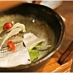 渋谷 牡蠣入レ時 - コハダのマリネ(丸投げコース5品目)