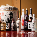 鳥茶屋 - 日本酒は「土佐鶴」