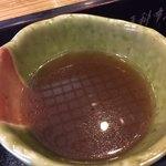 芝大門 更科布屋 - 蕎麦湯割り