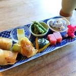 88583953 - 旬野菜料理(7種)