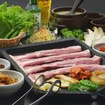 スンドゥブ専門店 HOTTO - 料理写真:金土日祝ディナー限定!【サムギョプサル】