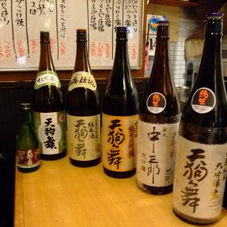 金沢といえば旨い魚と北陸の地酒◎常時<50種類>ご用意。