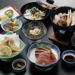 味処 一合半 ぶん家 - 料理写真:料理コース3800円
