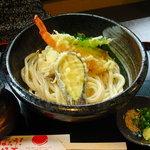 うどん家来夢 - 料理写真:【2011.06. 初訪】 天ぷらぶっかけ880円