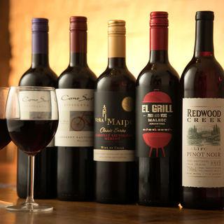 世界各国の《ワイン全30種》