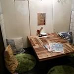 丸焼き鳥 個室イタリアン居酒屋 メリケン - 掘りごたつ席