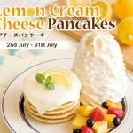 エッグスンシングス - 料理写真:★期間限定★レアチーズパンケーキ