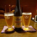 タルカリ - キリン一番搾り 中瓶 590円