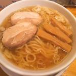 龍神麺 - 手もみ中華そば(650円)