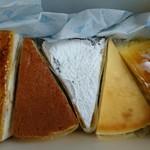 帝国ブランド - 料理写真:左から1サンマルク2クリームチーズ34ミロワール5インペリアル