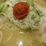 城東烈火 - 辛味噌麺:味噌♪