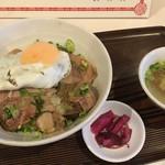 蓬珉軒 - チャーシュー丼