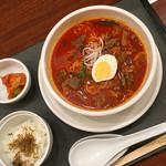 88598202 - カルビ湯麺セット