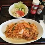喫茶ママン - 料理写真:ナポリタン@600