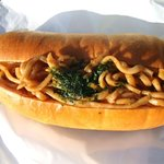 シミズパン店 - やきそばパン