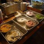 カプリチョーザ - 食べ放題のサラダバー