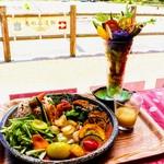 カリオン - 明日香野菜カレーとサラダパフェ