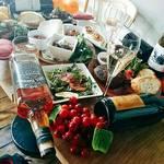 デュークサルーン - サルーンのワインとお料理
