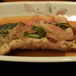 西新宿 小町食堂 - 鯖の南蛮漬け 330円
