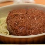 西新宿 小町食堂 - ミートソースハンバーグ 300円