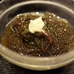 西新宿 小町食堂 - もずく酢 120円