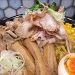 蔵味噌ラーメン 晴っぴ - 料理写真:ぜいたく蔵味噌ラーメン ¥1080+¥200(大盛)
