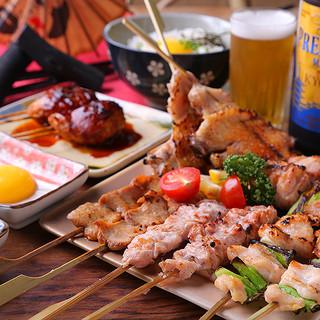 《各種宴会に最適》七谷地鶏と超樽生達人認定ビールで乾杯♪