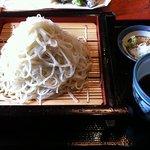 そば処 ひ乃き - 夏季限定白雪蕎麦大盛